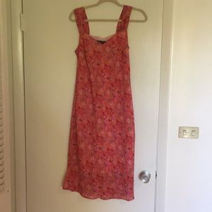Strapy floral dress